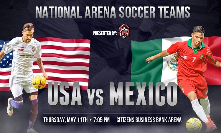 Usa Vs Mexico Toyota Arena
